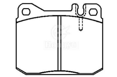 7036-D145 Semi-Metallic Brake Pads