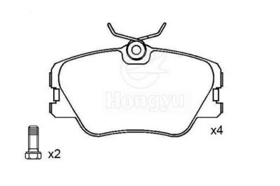 7311-D423 Semi-Metallic Brake Pads