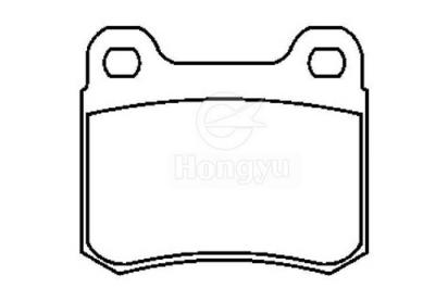 7314-D426 Semi-Metallic Brake Pads