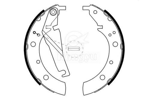 GS8209 Ceramics Brake Shoes